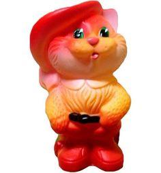 Игрушка для ванны Огонек Кот в сапогах 12 см ОГОНЕК.