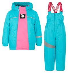 Комплект куртка/брюки Boom By Orby, цвет: бирюзовый