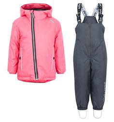 Комплект куртка/полукомбинезон Artel, цвет: розовый