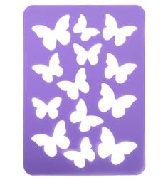 Трафарет для тиснения Fancy Creative Бабочки ПВХ