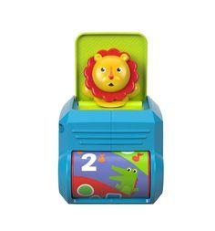 Интерактивная игрушка Fisher-Price Кубик Львёнок