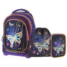 Рюкзак Target супер лёгкий Золотая бабочка 3 в 1 43х32х18 см