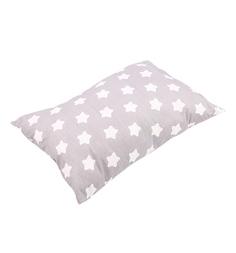Зайка Моя Подушка Звезды большие 40 х 60 см, цвет: белый