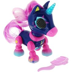 Интерактивная игрушка Zommer «Счастливый Единорог» Midnight