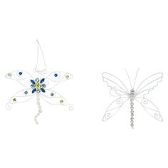 Украшение Winter Wings Декоративное Бабочка 18 см