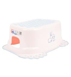 Подставка для ванны Tega Кролики, цвет: розовый