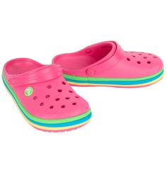 Сабо Crocs CB Rainbow Band Clog K PdP