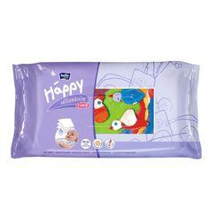 Влажные салфетки Bella Baby Happy baby Happy с витамином Е и аллантоином, 64 шт