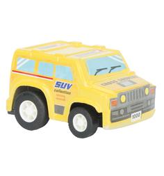 Машинка Maxi Car Джип, цвет: желтый 4.5 см