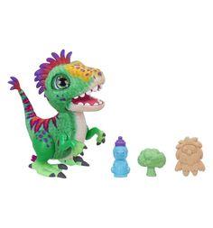 Интерактивная игрушка FurReal Friends Малыш Дино 32 см