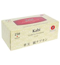 Салфетки бумажные Maneki Kabi, 250 шт