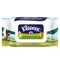 Влажные салфетки Kleenex антибактериальные Disney, 40 шт