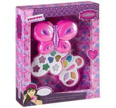 Набор детской декоративной косметики Bondibon Бабочка Eva Moda