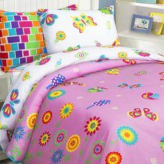 Комплект постельного белья Мона Лиза Бабочки 1.5 спальный, цвет: мультиколор 4 предмета Mona Liza