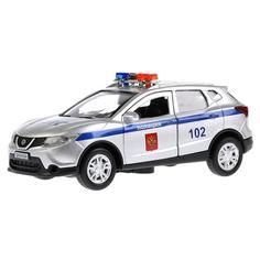 Игрушечная машинка Технопарк Nissan Qashai полиция 12 см
