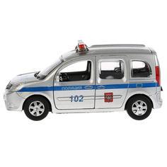 Игрушечная машинка Технопарк Renault Kangoo полиция 12 см