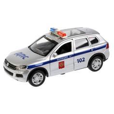 Игрушечная машинка Технопарк VW Touareg полиция 12 см