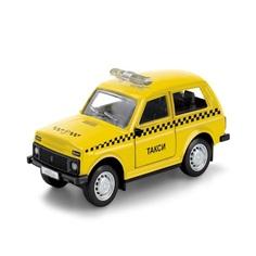 Игрушечная машинка Технопарк Lada 4х4 такси 12 см