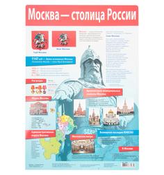 Плакат Дрофа Москва - столица России