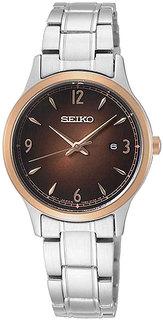 Японские женские часы в коллекции CS Dress Женские часы Seiko SXDH02P1