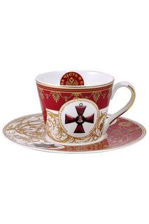 Чашка с блюдцем Федерация
