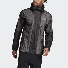 Куртка-дождевик Terrex Primeknit adidas Performance