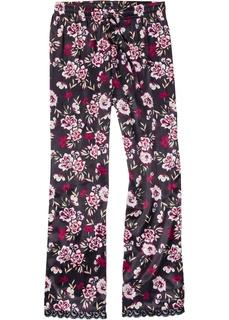 Футболки и брюки Брюки пижамные из сатина Bonprix