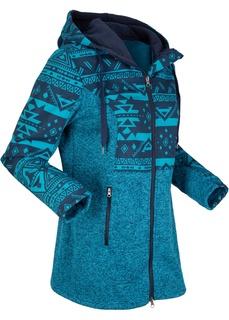 Флисовые куртки Флисовая куртка с капюшоном Bonprix