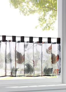 Короткие шторы Кухонная штора Кленовый лист Bonprix