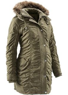 Куртки Зимняя куртка для будущих мам, регулируемая по ширине Bonprix