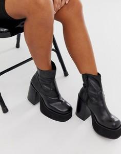 Черные ботинки на платформе Kaltur - Черный