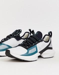 Белые кроссовки Reebok - sole fury - Белый