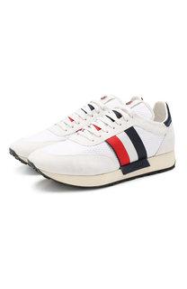 Кожаные кроссовки Horace Moncler