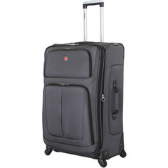 Чемодан Wenger Sion, серый, 46x29x80 см, 90 л, шт