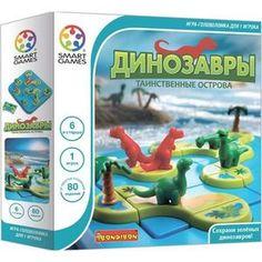 Bondibon Логическая игра Динозавры.Таинственные острова (ВВ1883)