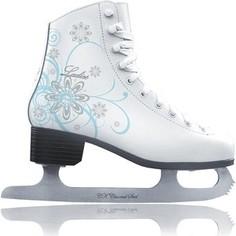 Фигурные коньки CK LADIES velvet Classic CK - IS000041 - Белый (34)