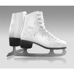 Фигурные коньки CK LADIES fur Classic CK - IS000031 - Белый (33)
