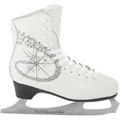 Фигурные коньки CK PRINCESS LUX leather 100% CK - IS000040 - Белый (33)