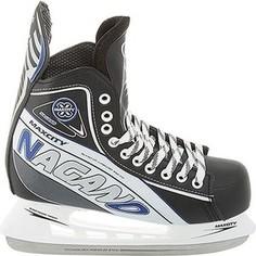 Хоккейные коньки MaxCity NAGANO MC - IS000058 - Черный (46)