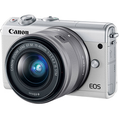 Фотоаппарат Canon EOS M100 Kit EF-M 15-45 IS STM White