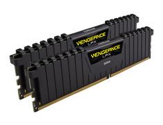 Модуль памяти Corsair Vengeance LPX DDR4 DIMM 2400MHz PC4-19200 CL14 - 32Gb KIT (2x16Gb) CMK32GX4M2A2400C14