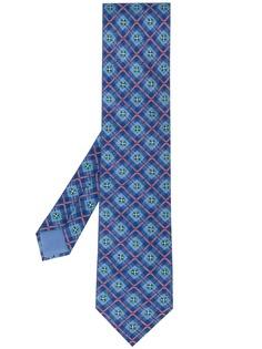 Hermès Pre-Owned галстук 2000-х годов с цветочным принтом
