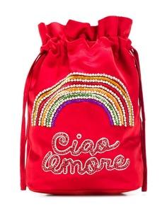 Giada Benincasa мини-сумка с вышивкой