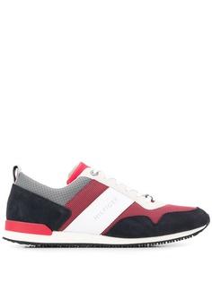 Tommy Hilfiger кроссовки в полоску с логотипом