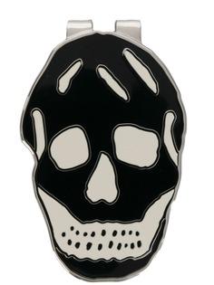 Alexander McQueen запонки в виде черепа