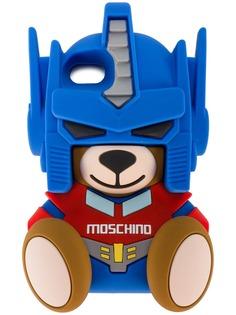 Moschino чехол для iPhone 7 в виде медведя-трансформера
