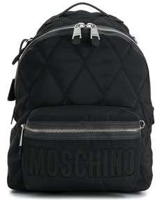 Moschino стеганый рюкзак