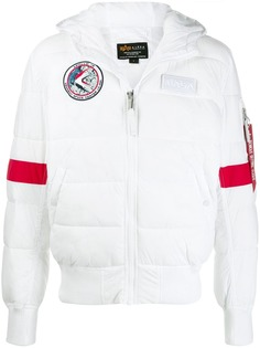 Alpha Industries пуховик Nasa