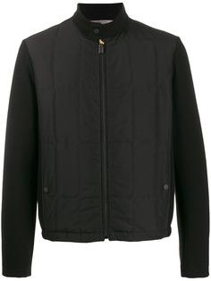 Canali куртка-бомбер с длинными рукавами