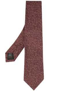 Gieves & Hawkes галстук с геометричной вышивкой